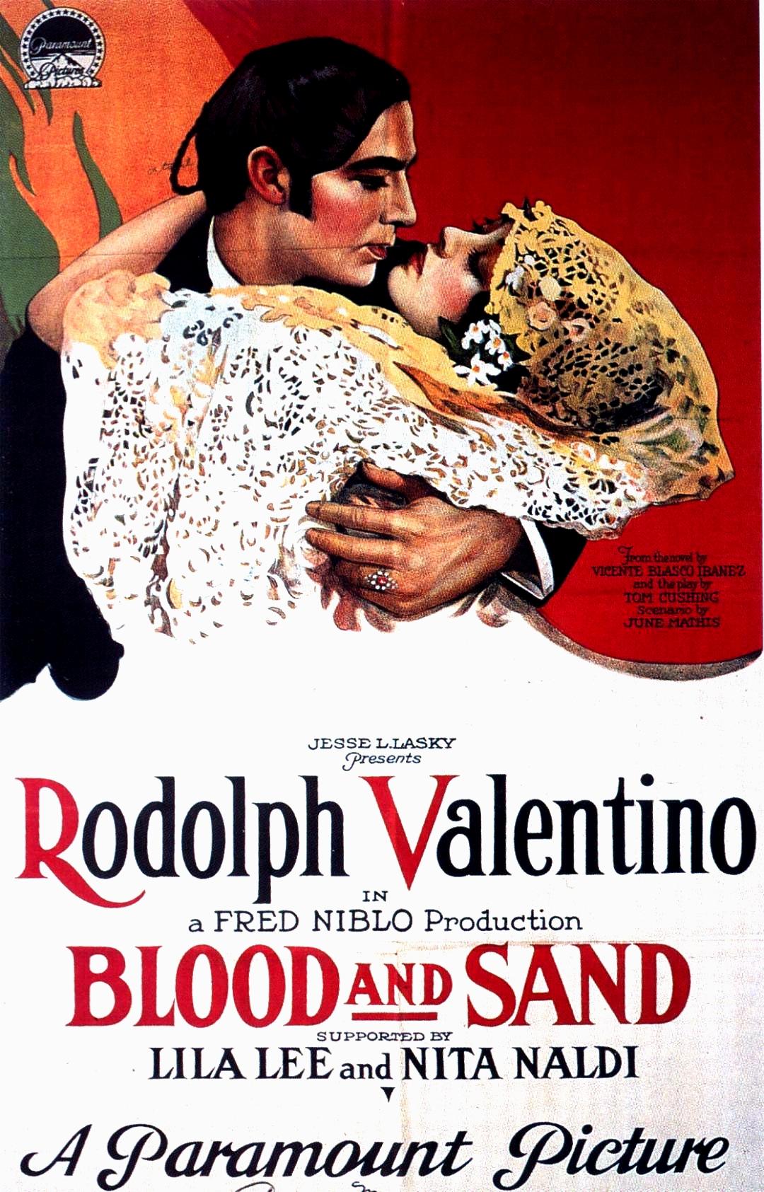 SANGUE E ARENA inaugura la Settima edizione del Gran Festival del Cinema Muto dedicata a Rodolfo Valentino